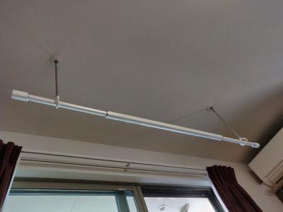 パイプ吊りハンガー取付状態