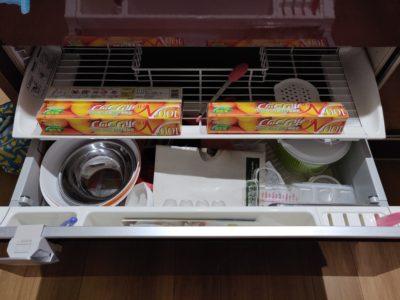 キッチン収納シンク下